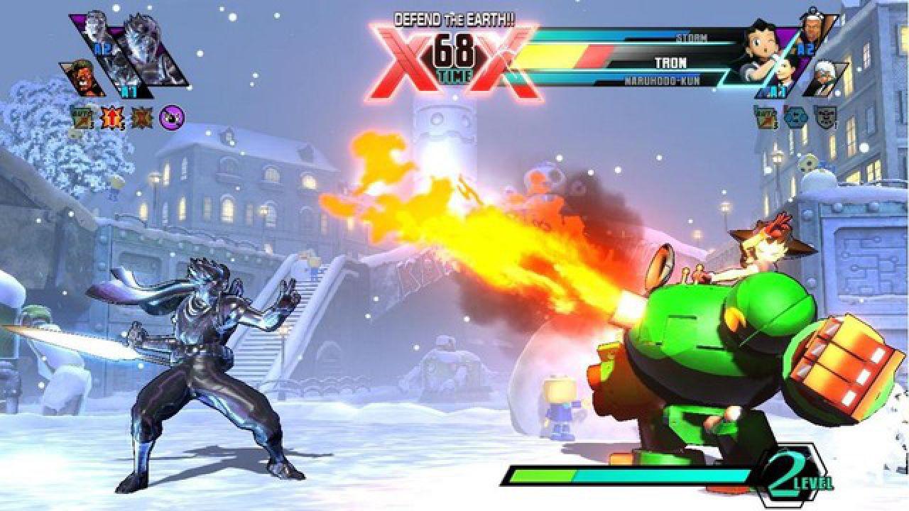 Ultimate Marvel vs Capcom 3 al lancio di PS Vita negli USA... anzi sarà disponibile una settimana prima!