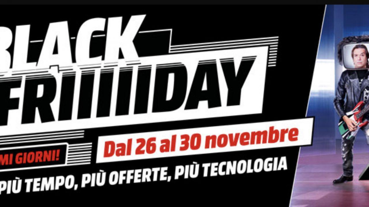 Ultime ore del Black Friday Mediaworld: le migliori offerte in attesa del Cyber Monday