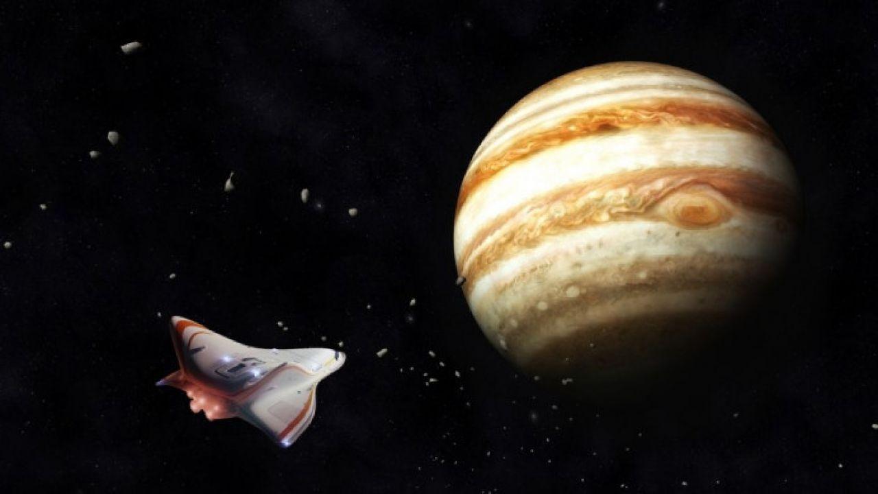 Un aereo con propulsione nucleare potrebbe esplorare l'atmosfera di Giove
