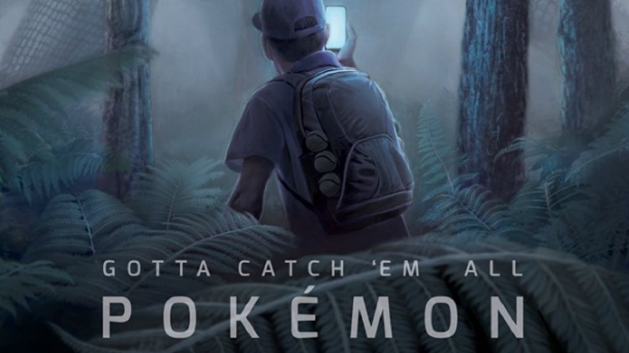 Un artista aveva immaginato Pokemon GO con qualche anno di anticipo