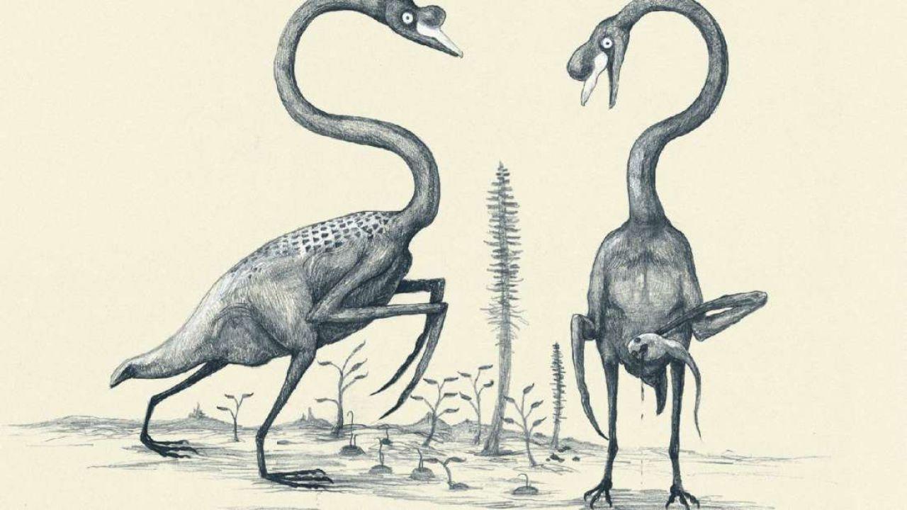 Un'artista immagina il terrificante aspetto degli animali odierni... se fossero dinosauri