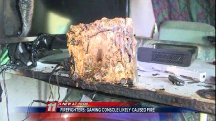 Un camper prende fuoco, secondo i pompieri è stata colpa della Wii