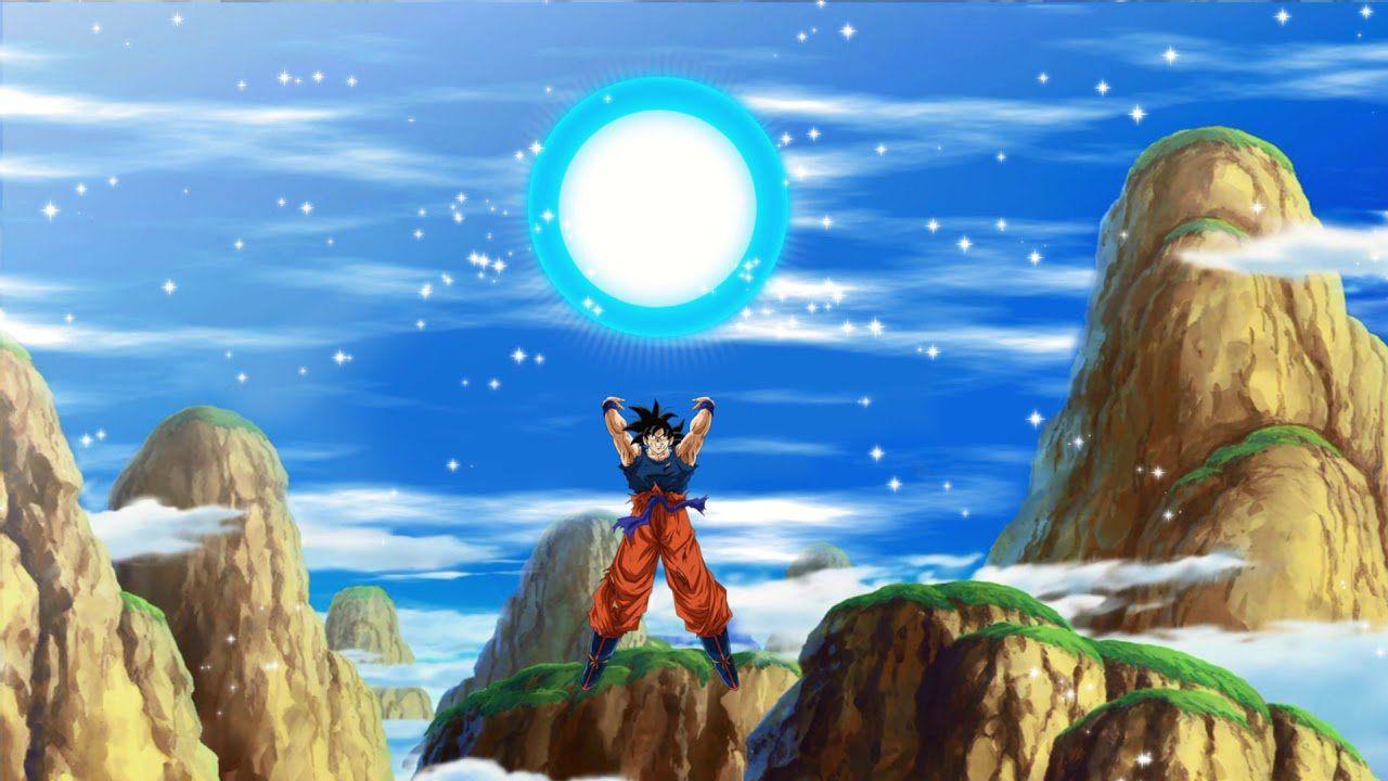 Un fan di Dragon Ball Z ha decorato l'albero di Natale con la Sfera Genkidama di Goku