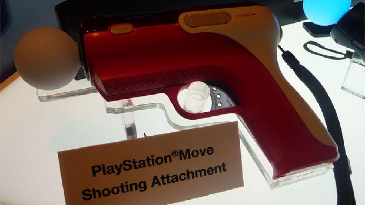 Un fucile da cecchino per il Playstation Move