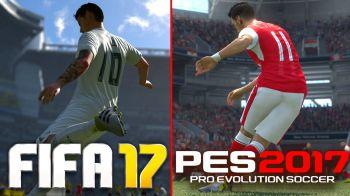 Un nuovo video confronto tra FIFA 17 e PES 2017
