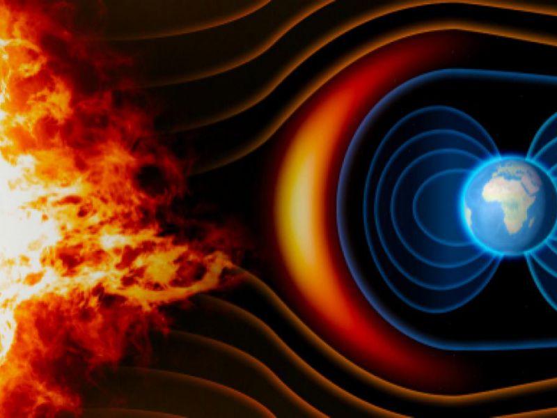 Un punto 'debole' del campo magnetico terrestre si sta indebolendo