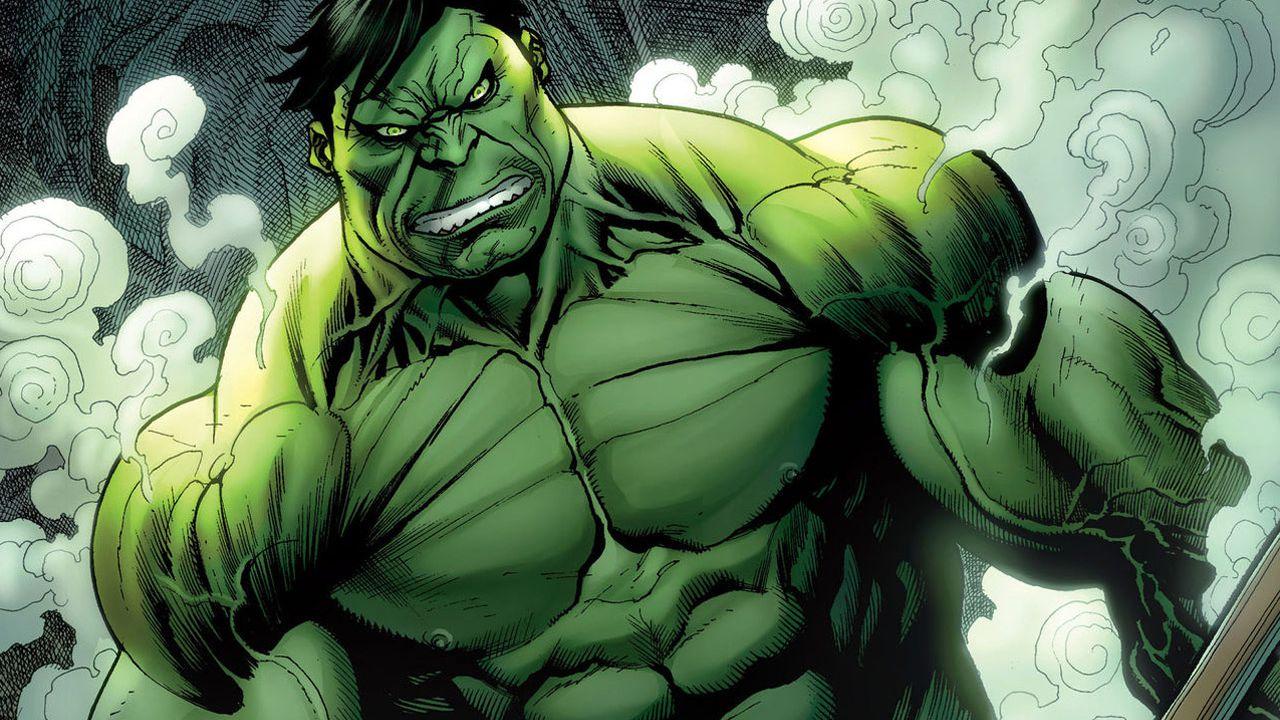 Un redattore della Marvel rispovera una vecchia tavola in cui Hulk trionfa su Superman
