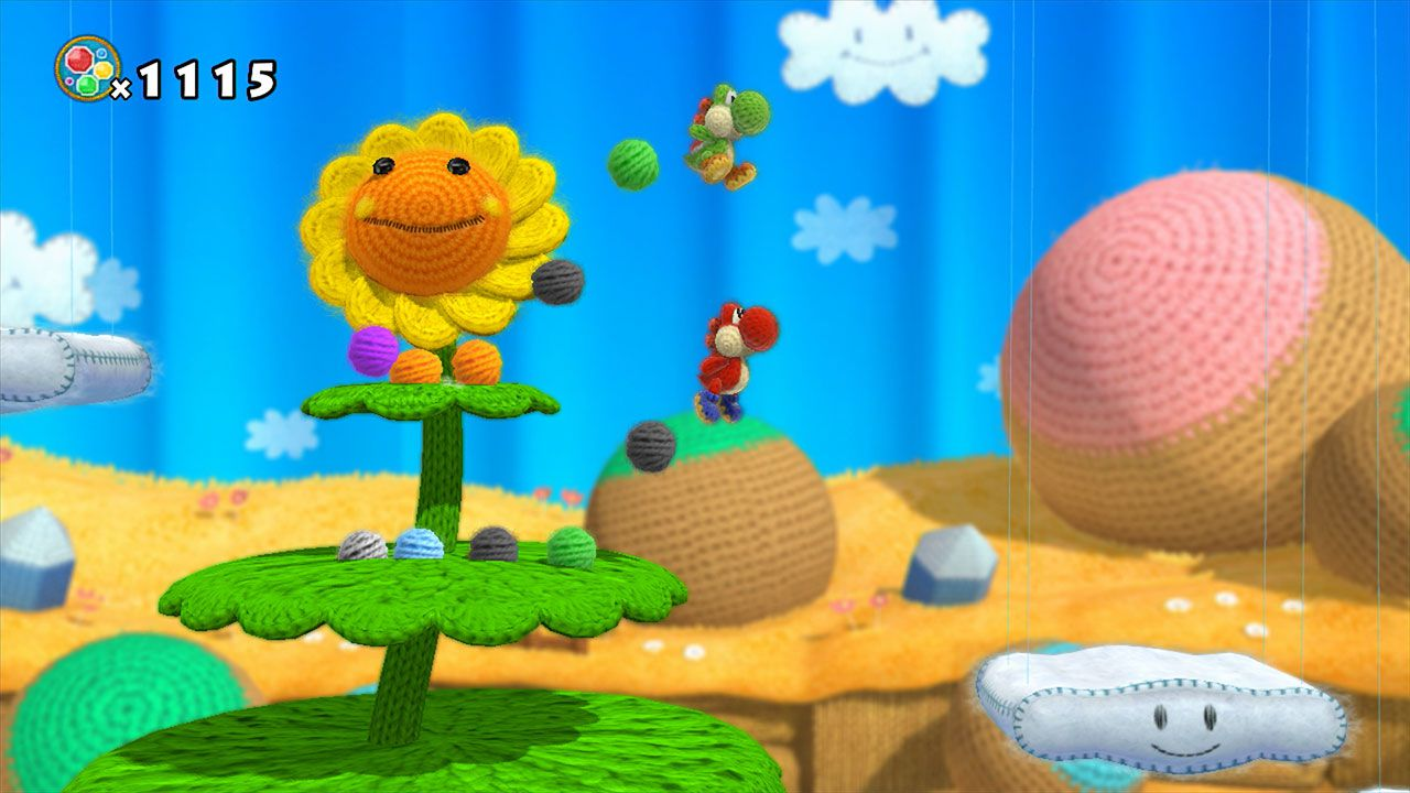 Un video analizza il gameplay di Yoshi's Woolly World