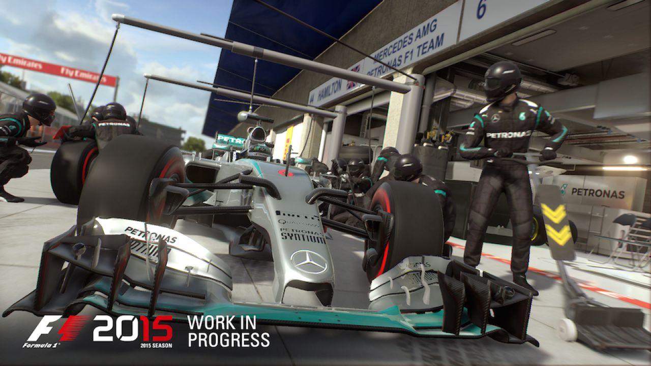 Un video mostra le prime immagini off-screen di F1 2015