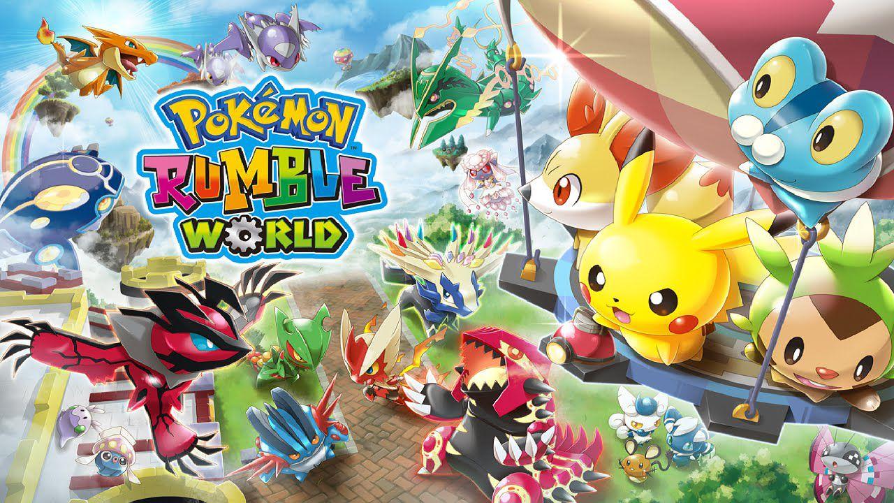 Un video mostra i primi 55 minuti di Pokemon Rumble World