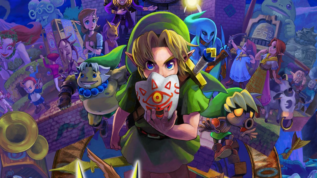 Un video mostra i primi 90 minuti di The Legend of Zelda Majora's Mask 3D
