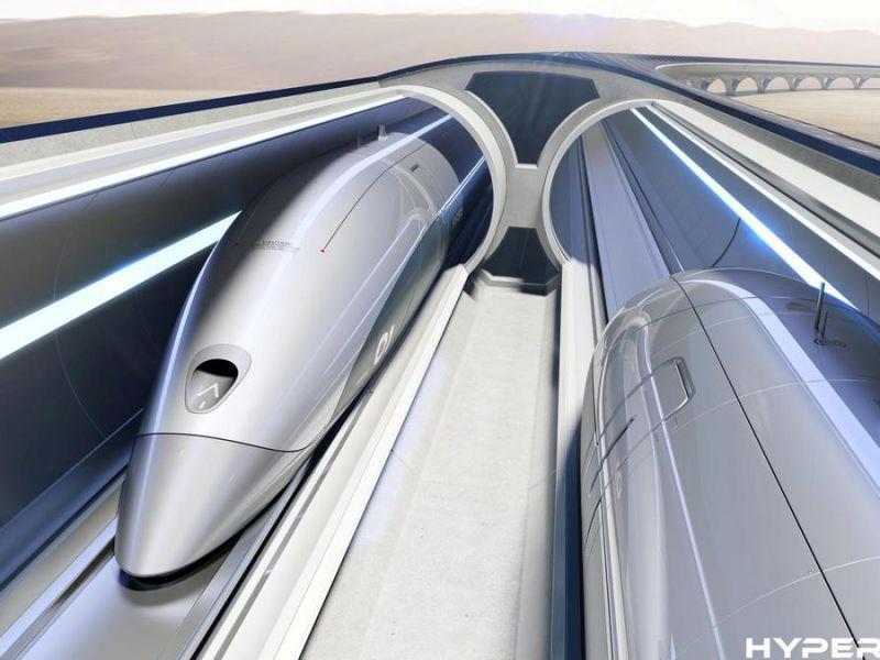 Un video ci mostra il viaggio all'interno del treno super veloce Hyperloop