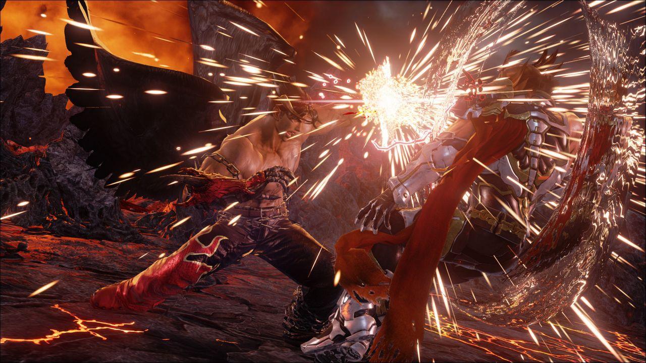 Un video off-screen di Tekken 7 mostra Lucky Chloe e Shaheen