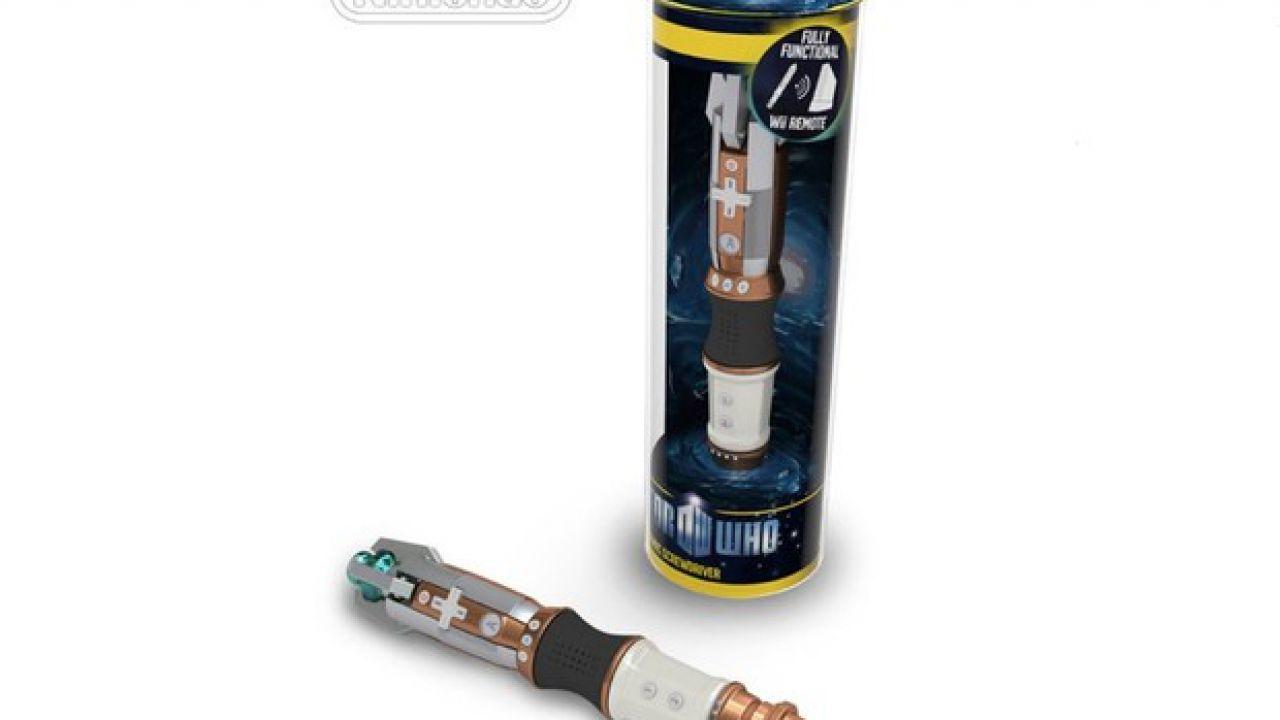Un WiiMote e una Stylus dedicati a Doctor Who