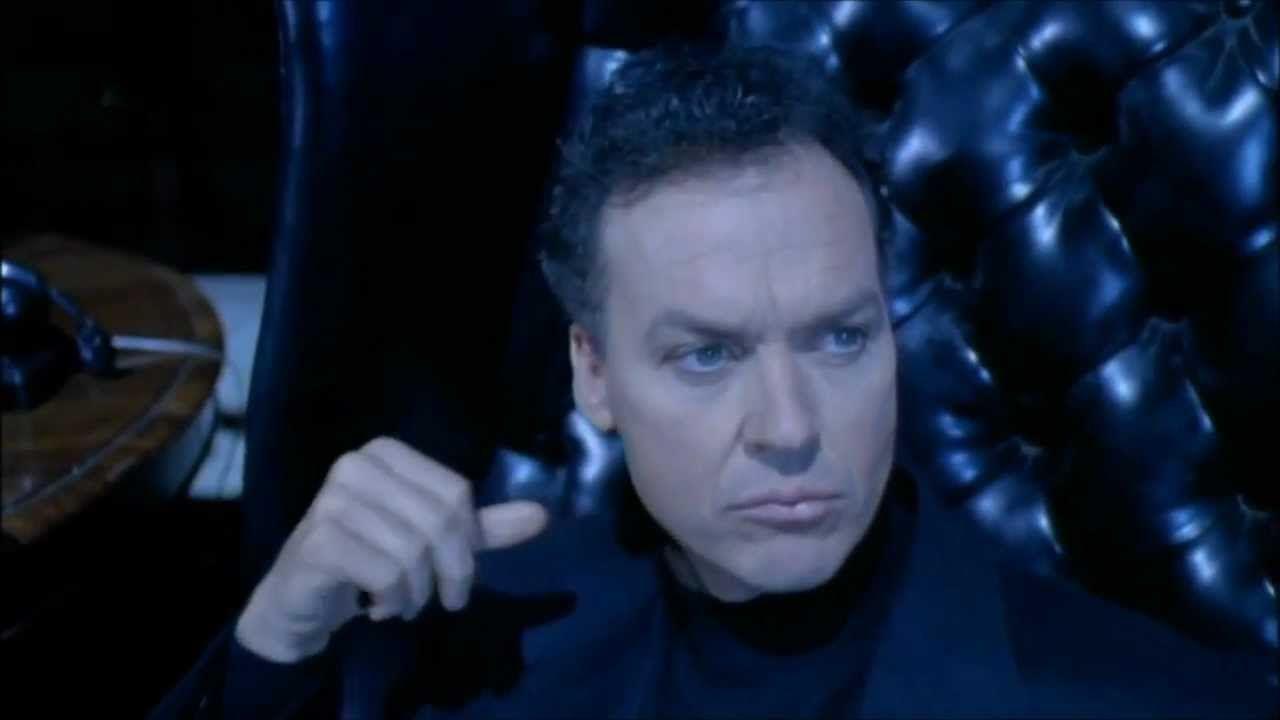Una fan art immagina Michael Keaton nei panni di un vecchio Bruce Wayne