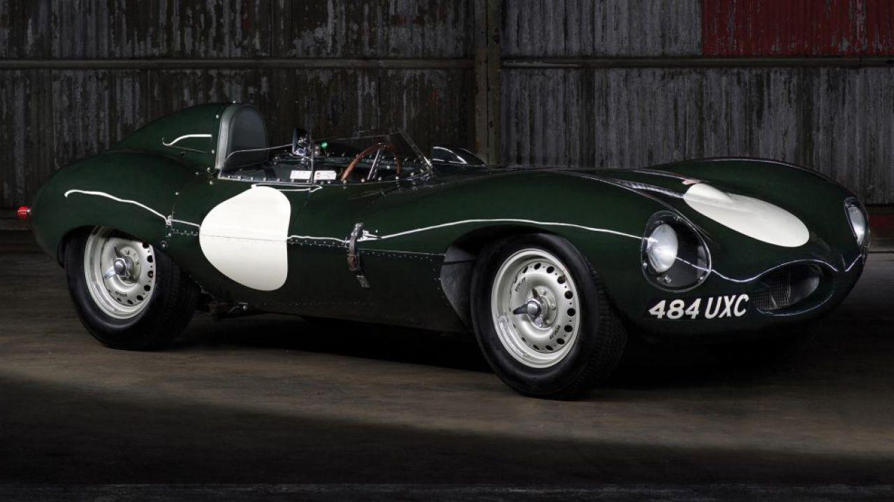Una delle Jaguar D-Type più rare al mondo all'asta per 6 milioni di euro