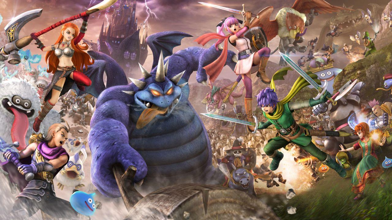 Una marea di screenshot per Dragon quest Heroes 2