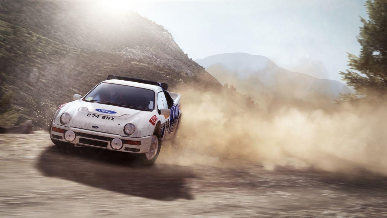 Una Mini sgomma nel nuovo video di  Dirt Rally