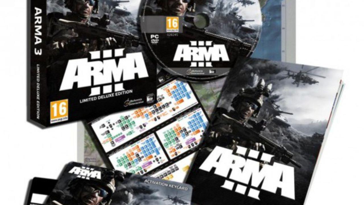Una nuova copertina per Arma 3