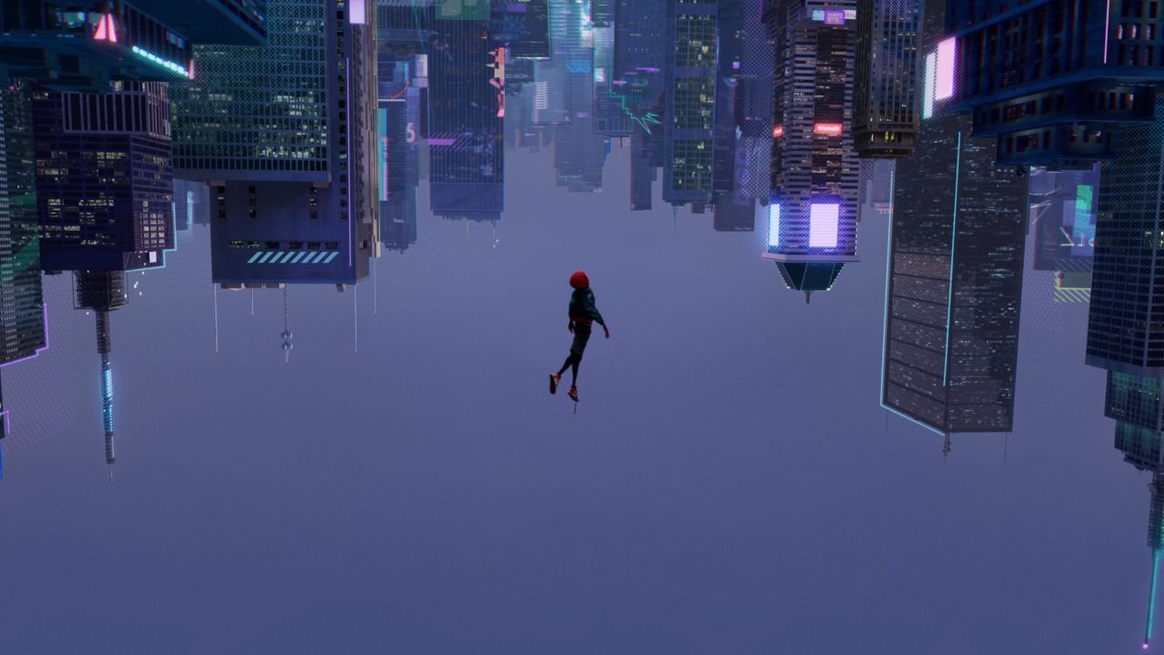 Una nuova generazione di eroi nel poster internazionale di Spider-Man: Un nuovo universo