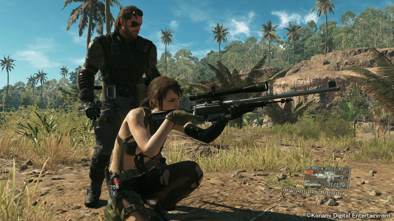 Una nuova immagine off-screen di Metal Gear Solid 5 The Phantom Pain mostra un Metal Gear