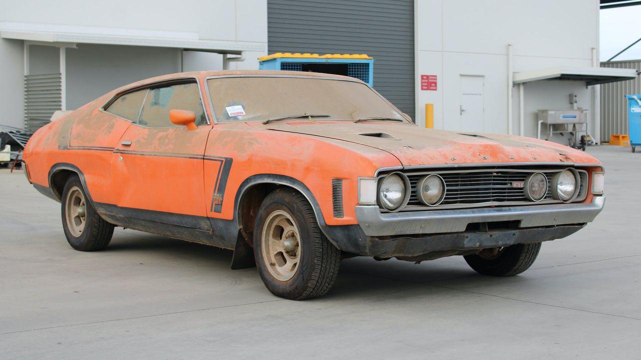Una rarissima Ford Falcon XA GT del 1973 torna alla luce dopo 32 anni