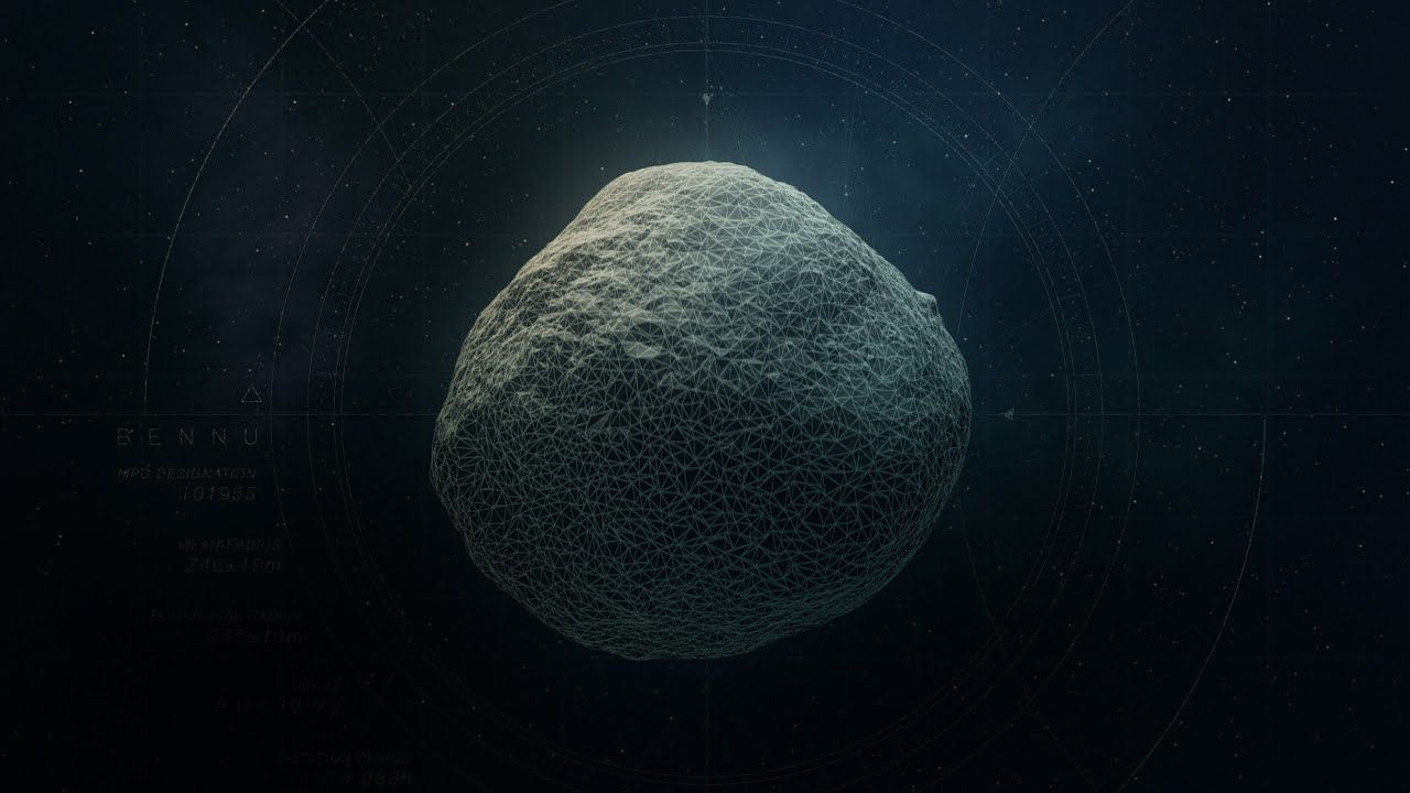 Una sonda della NASA trova tracce di antichi fiumi su un asteroide