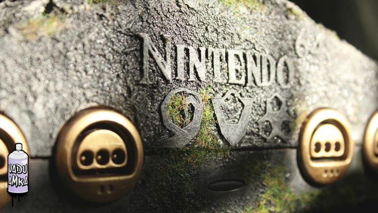 Una stupenda console personalizzata omaggia Zelda ed il Nintendo 64