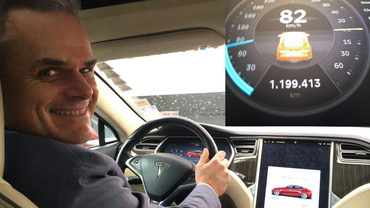 Una Tesla Model S ha percorso 1,2 milioni di km: ecco i dettagli