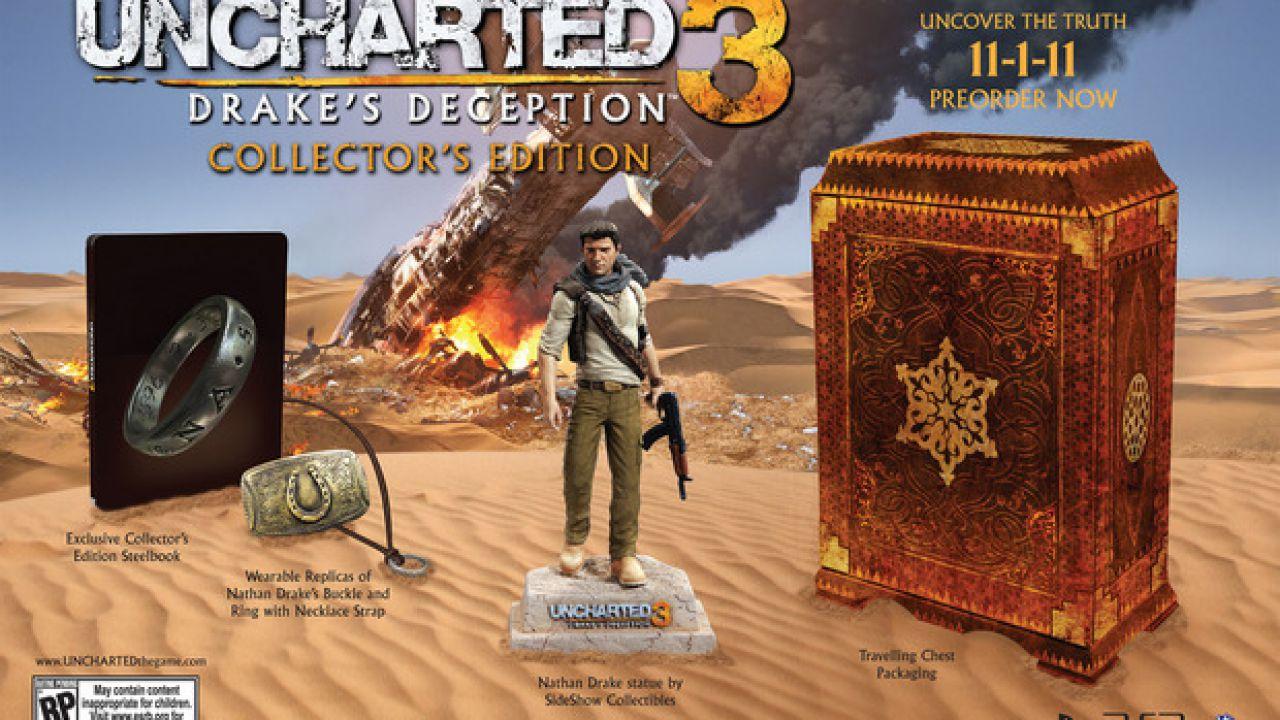 Uncharted 3: l'ultimo pacchetto mappe multiplayer disponibile dalla prossima settimana