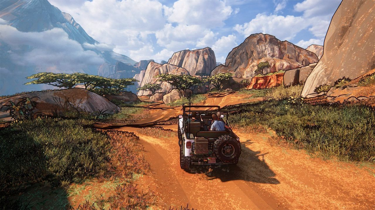 Uncharted 4 è bellissimo anche in cel-shading