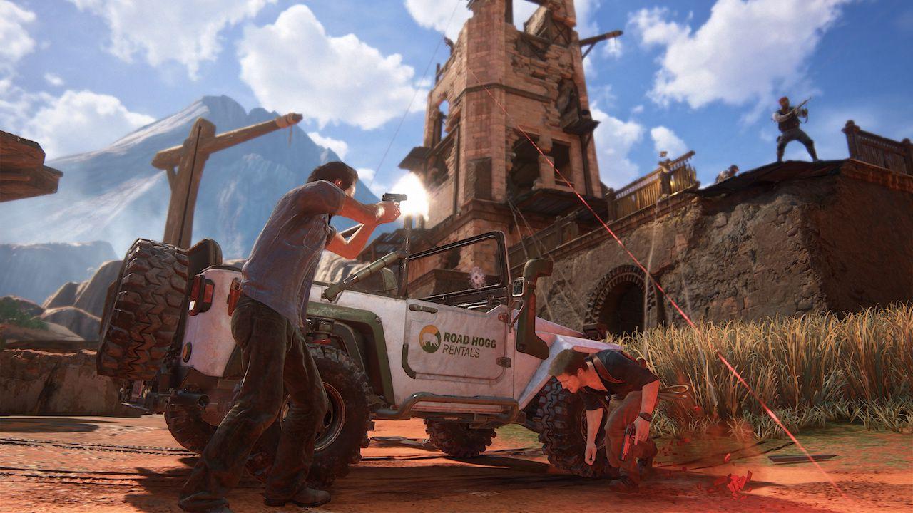 Uncharted 4: Digital Foundry analizza le nuove sequenze di gameplay della campagna