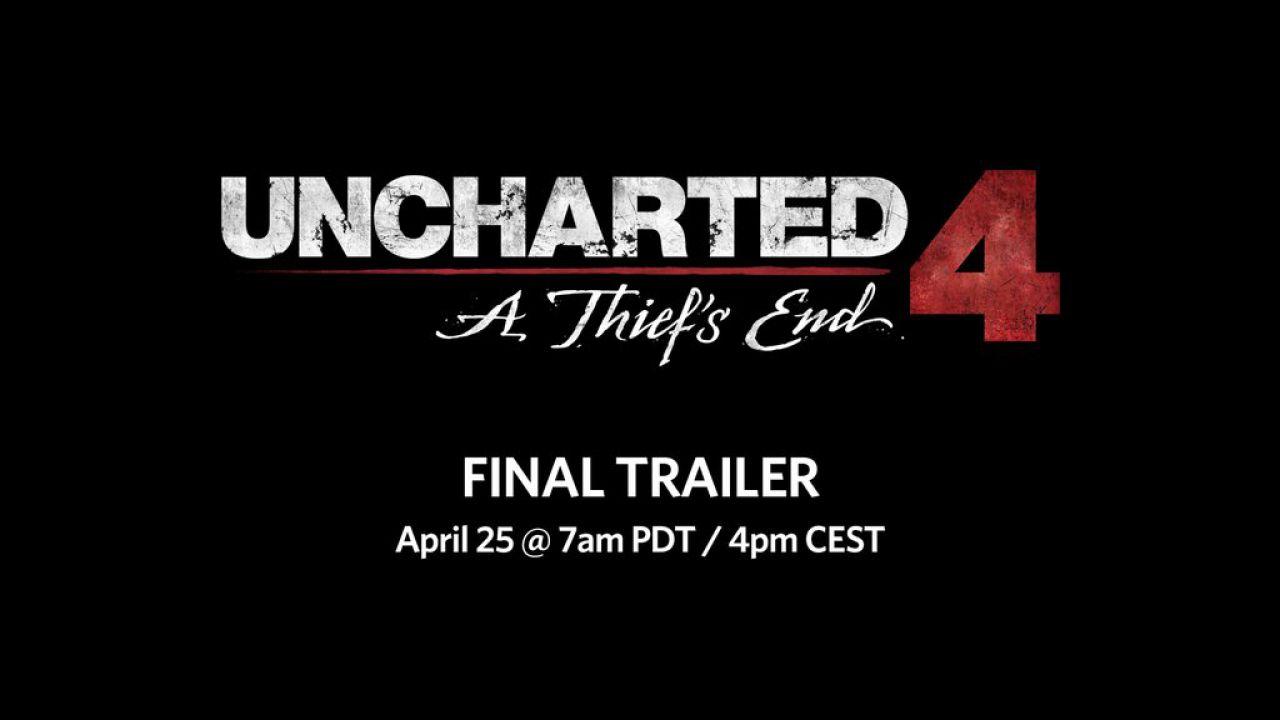 Uncharted 4: l'ultimo trailer verrà pubblicato oggi