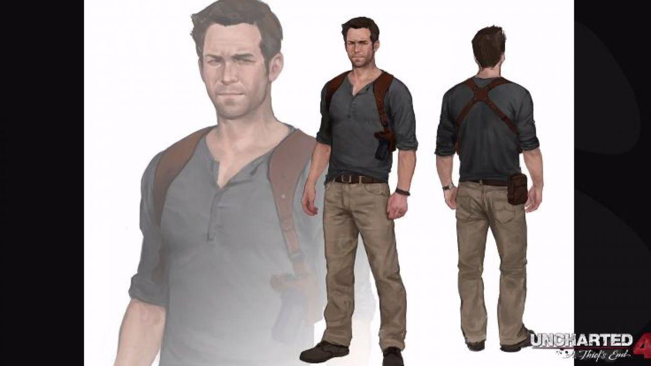 Uncharted 4: nuove informazioni sul modello di Nathan Drake