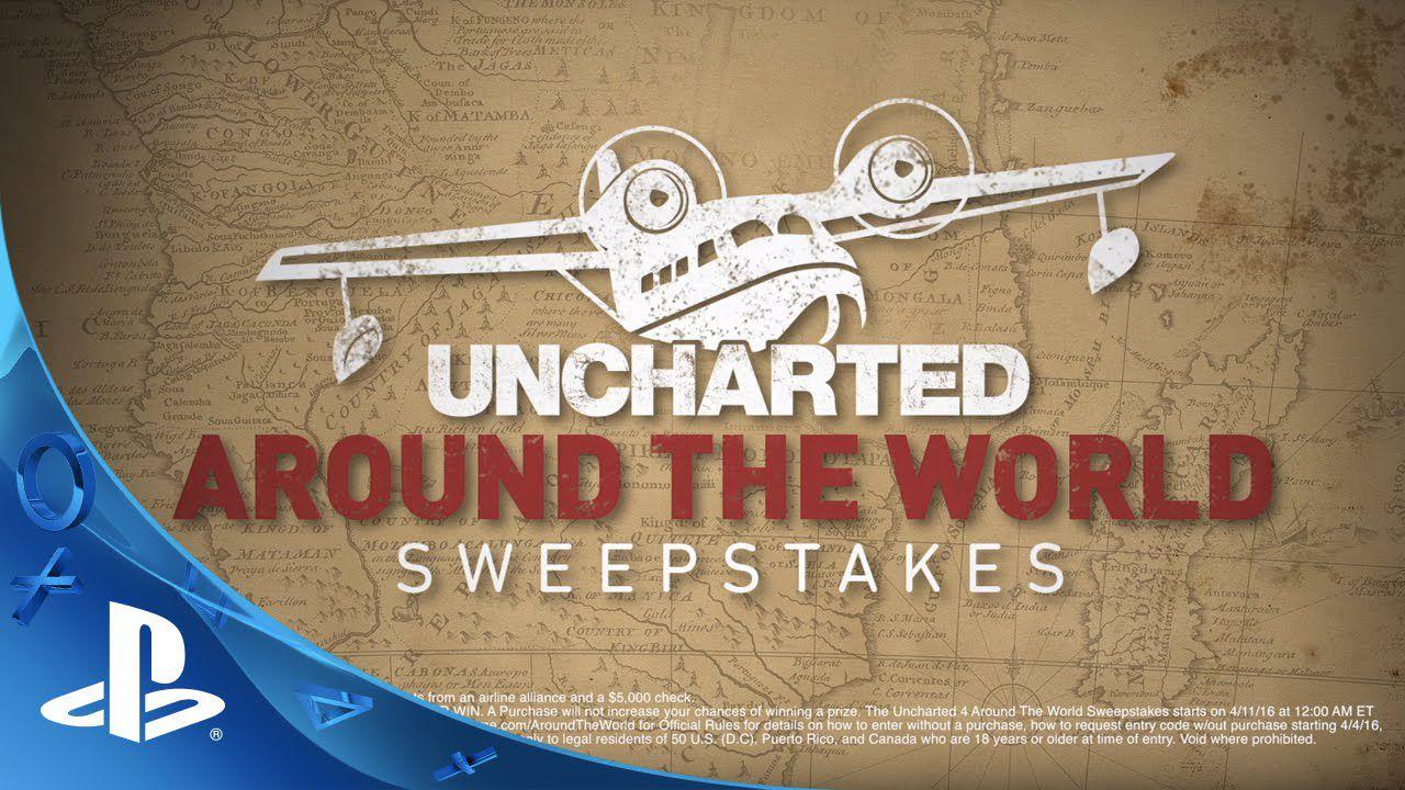 Uncharted 4: Sony lancia un concorso che mette in palio un viaggio intorno al mondo
