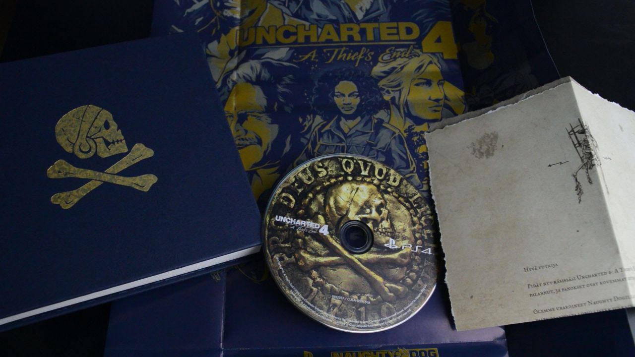 Uncharted 4: video unboxing del press kit