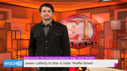 Underground: James Lafferty nel cast