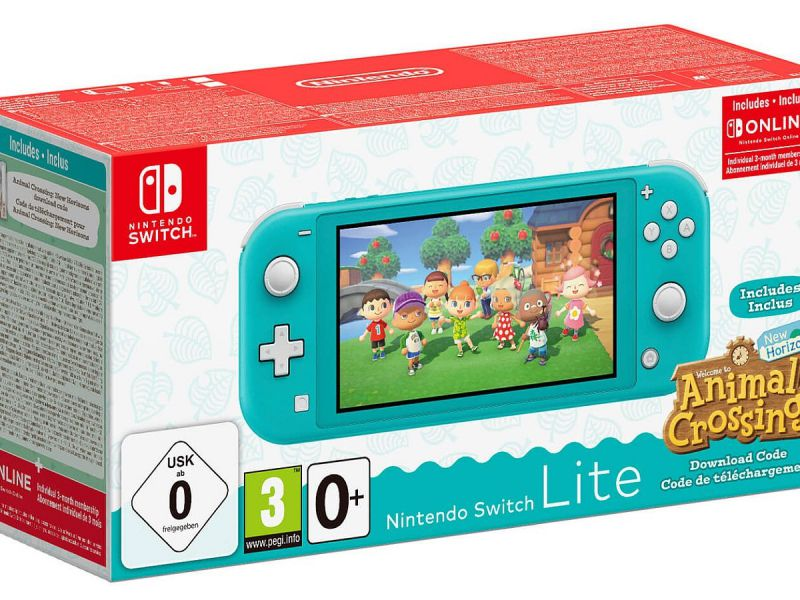 Unieuro San Valentino: Nintendo Switch Lite with Animal Crossing and Switch Online at a discount