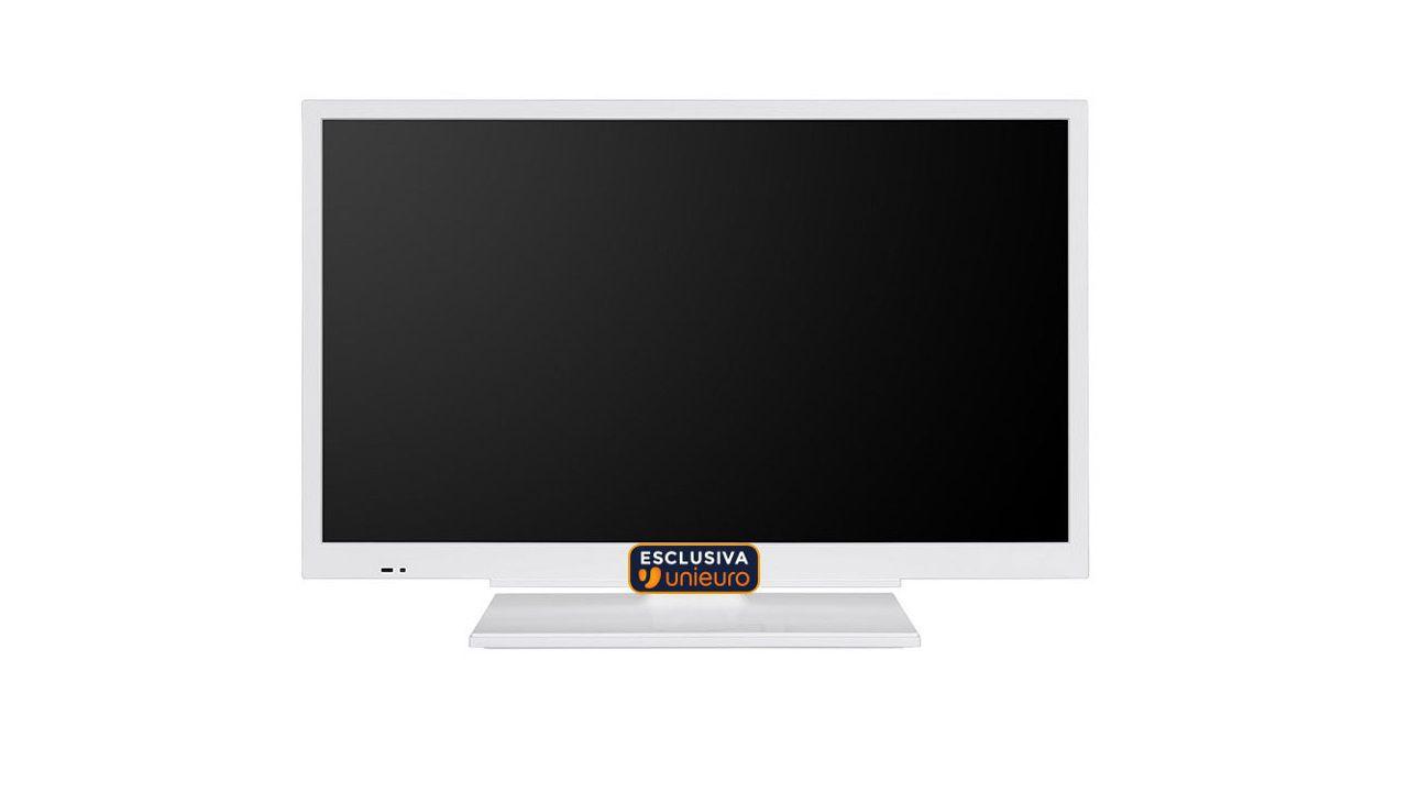 Unieuro, TV DVB-T2 in offerta esclusiva sotto i 150 euro