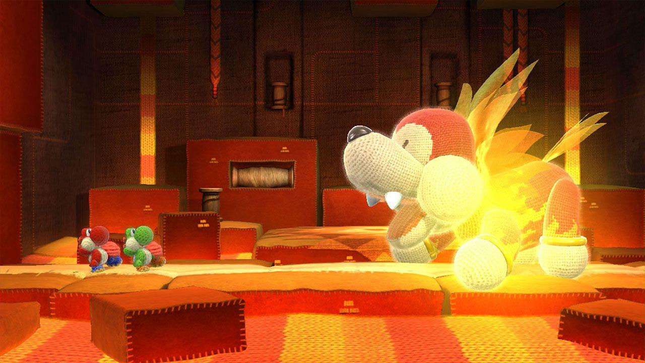 Uno sguardo ai tenerissimi Amiibo di lana di Yoshi's Woolly World