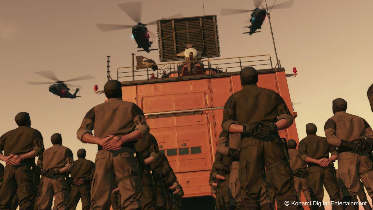 Uno spot TV per  Metal Gear Solid 5: The Phantom Pain