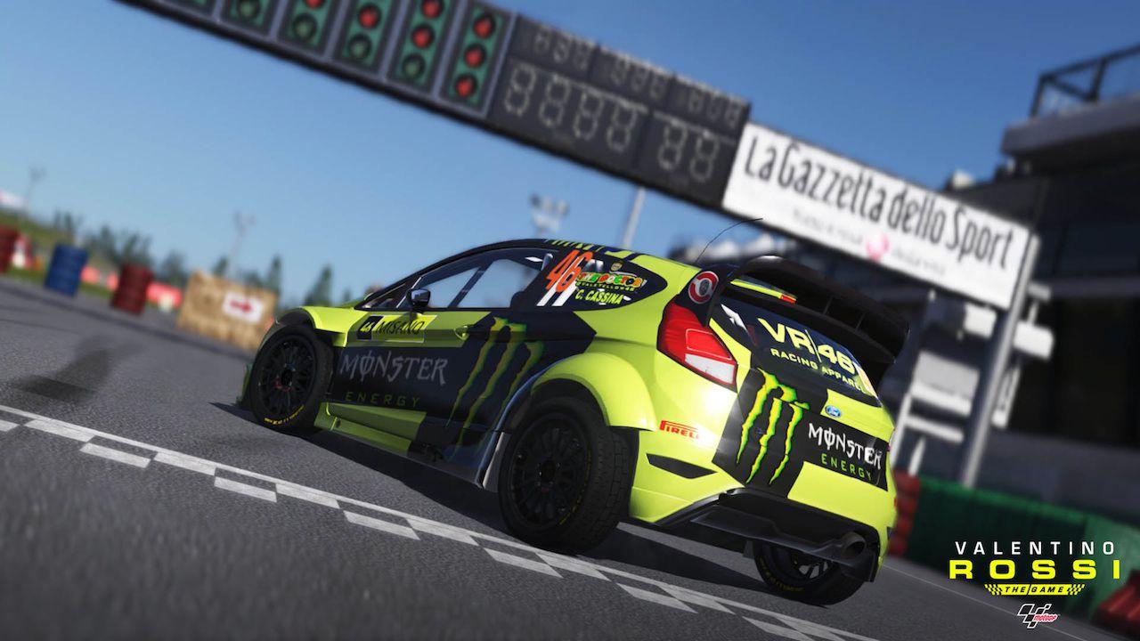 Valentino Rossi The Game: disponibile il DLC Ford Focus Rally 2009