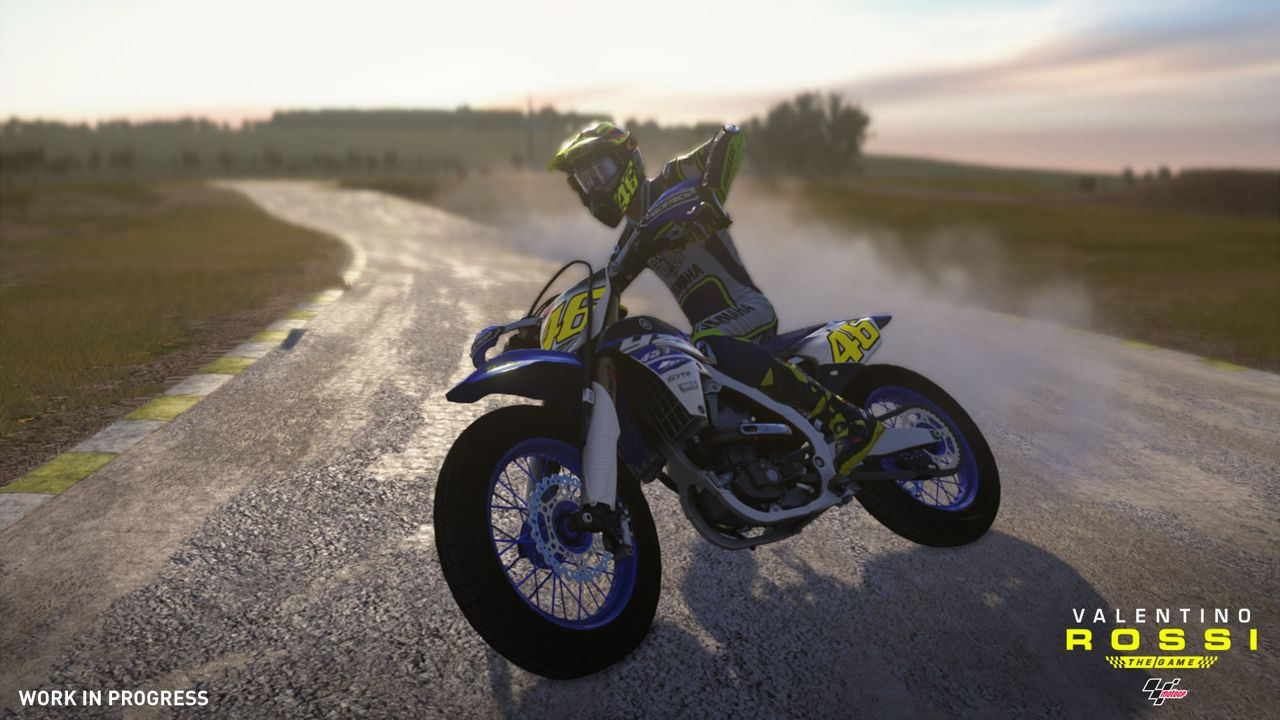Valentino Rossi the Game sfreccia in un video di gameplay off-screen
