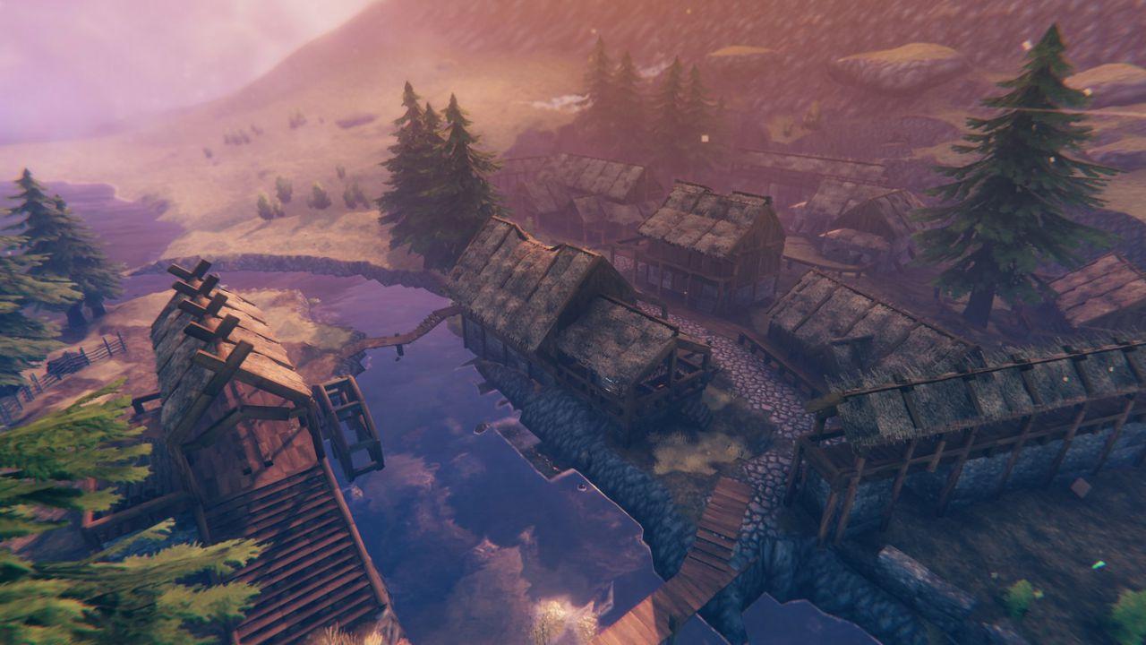 Valheim x Skyrim: un giocatore sta ricostruendo il villaggio di Riverwood