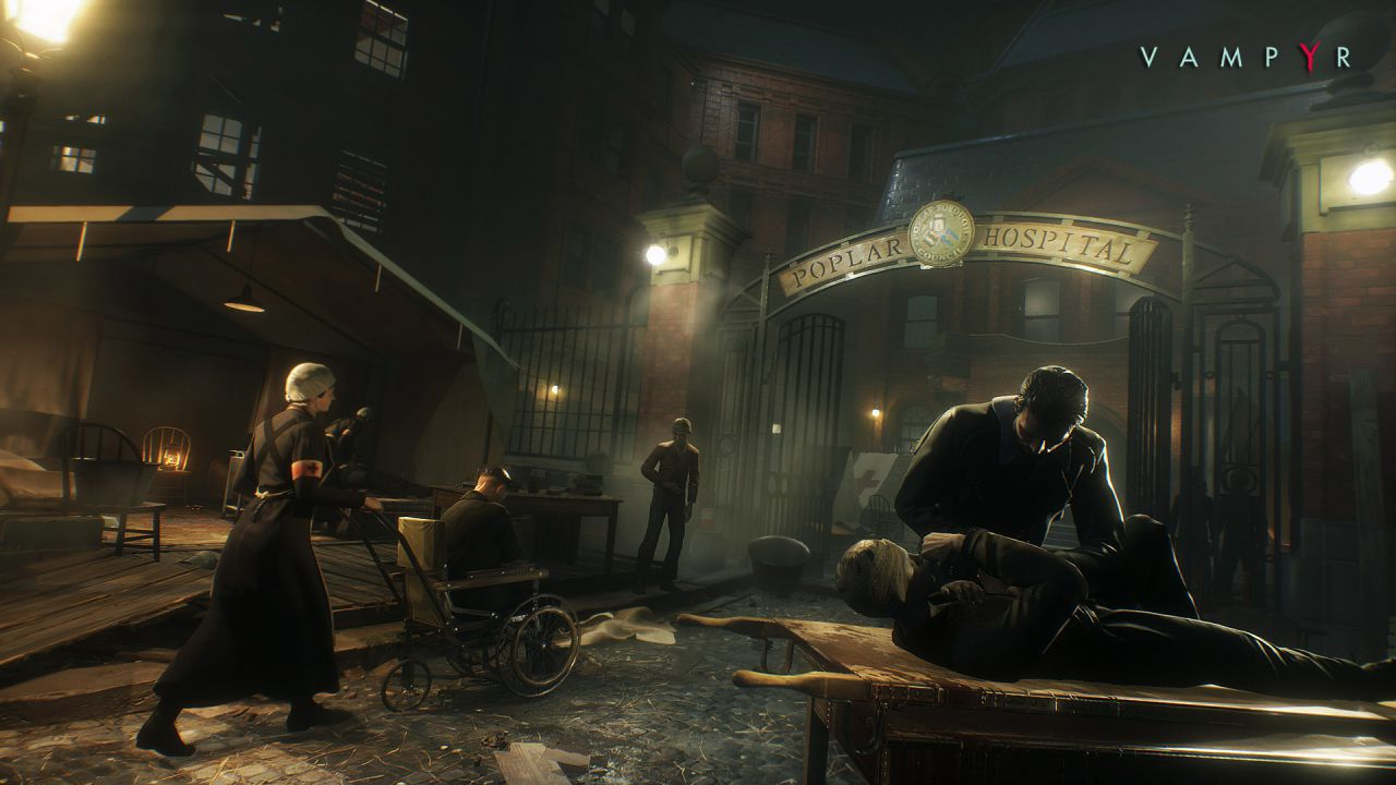 Vampyr: video gameplay della versione alpha