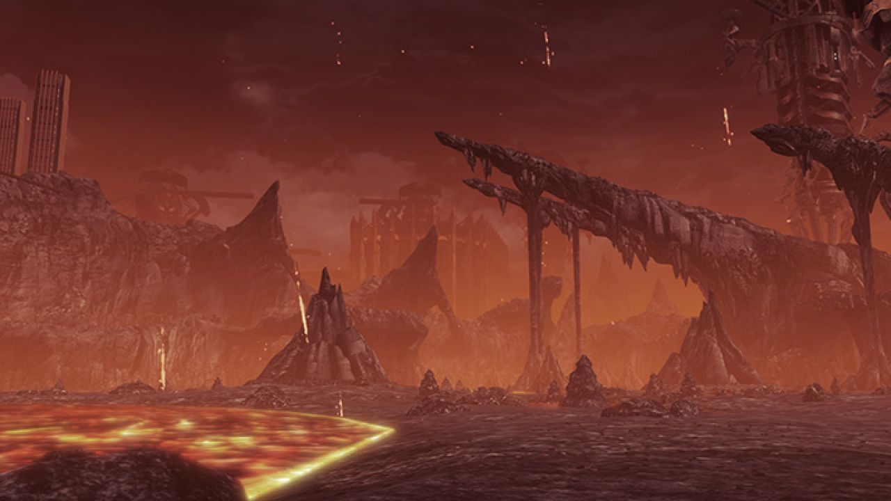 Vediamo alcune ambientazioni di Xenoblade Chronicles X in questo video off-screen