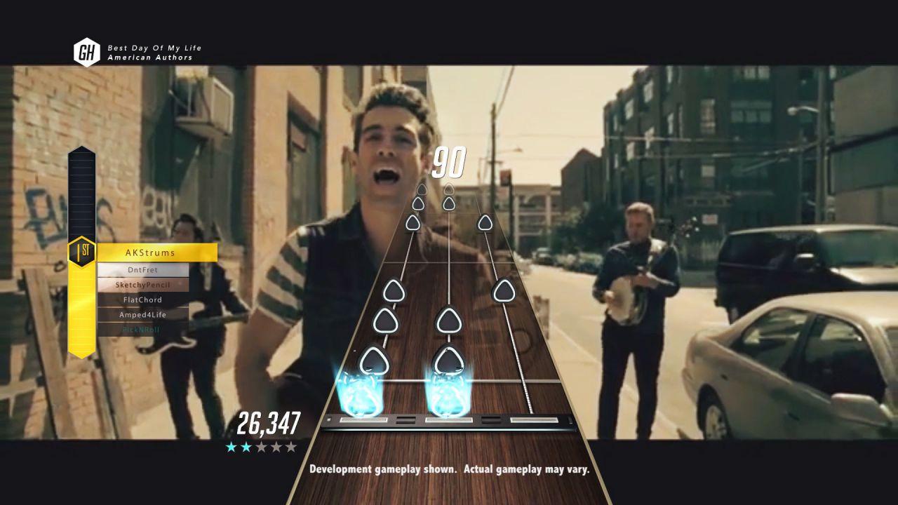 Vediamo la chitarra di Guitar Hero Live in azione