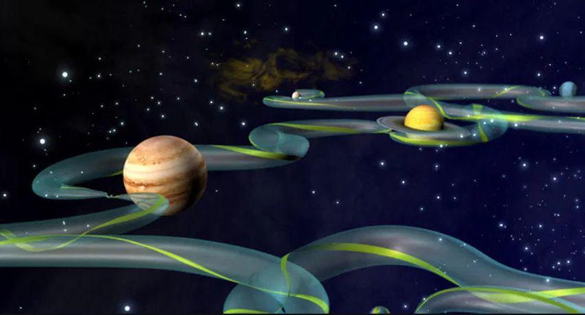 """Viaggiare velocemente nel Sistema Solare? È stata trovata """"un'autostrada"""" cosmica"""