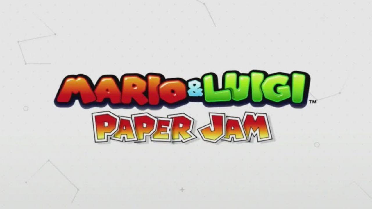 Video con 34 minuti di gameplay di Mario & Luigi Paper Jam