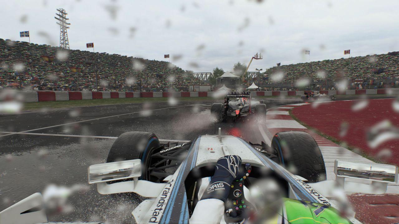 Video gameplay di F1 2015 tratto dalla versione PlayStation 4